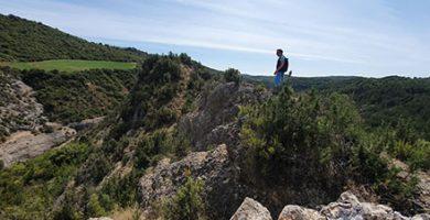 paisaje cresta Marmañana camping Panzano