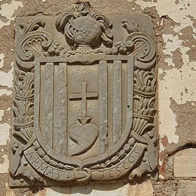 escudo heráldico de Panzano Huesca, camping barato en Guara