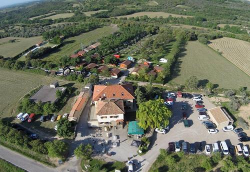 camping con piscina Huesca, Sierra de Guara pre pirineo