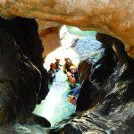 descenso de barrancos Guara rio Formiga